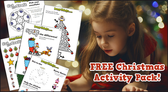 Christmas activitu pack download