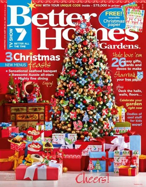 FREE 1year Subscription to Better Homes and Gardens magazine